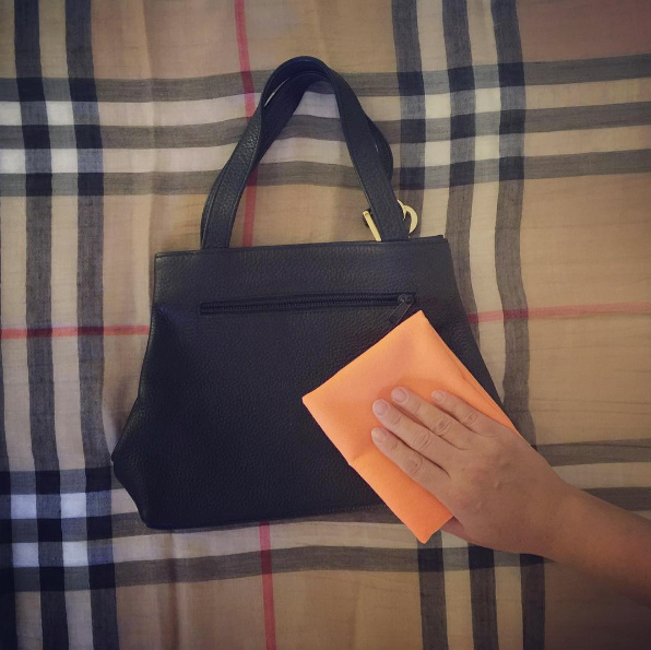 how to condition your handbag