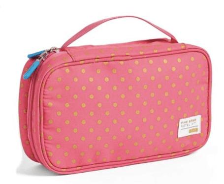 flight 001 five star hotel kit pink