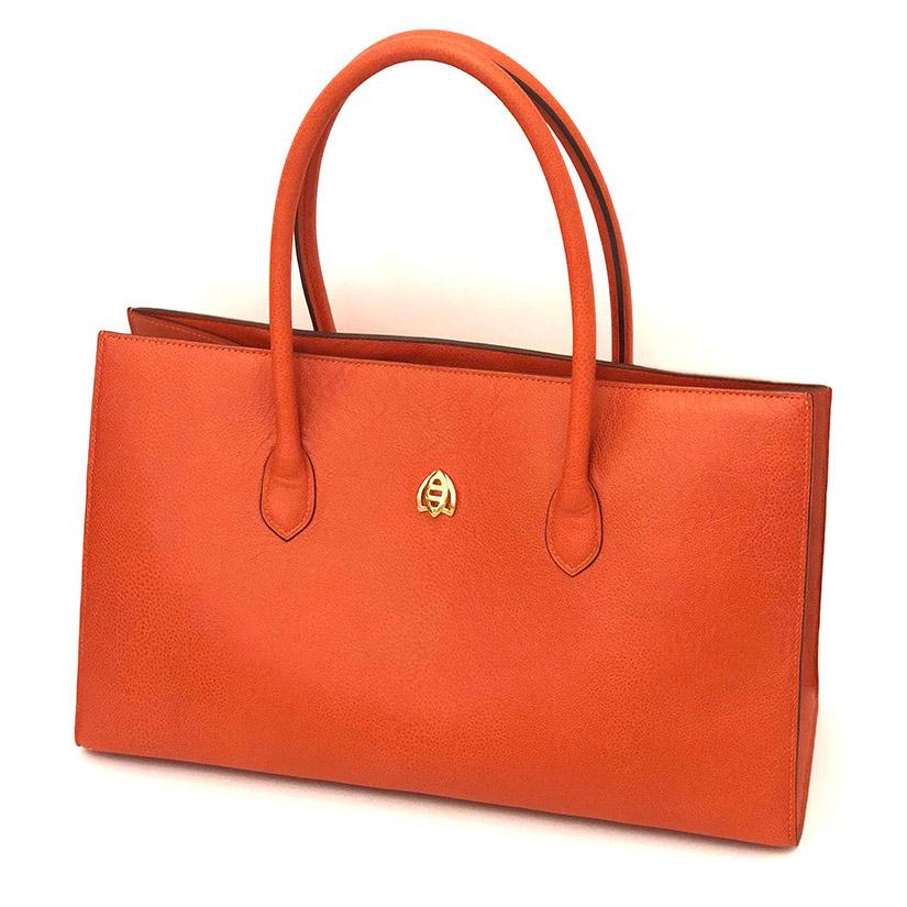 Lucy Orange Bag April in Paris