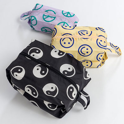 Baggu 3D Zip Set Bag