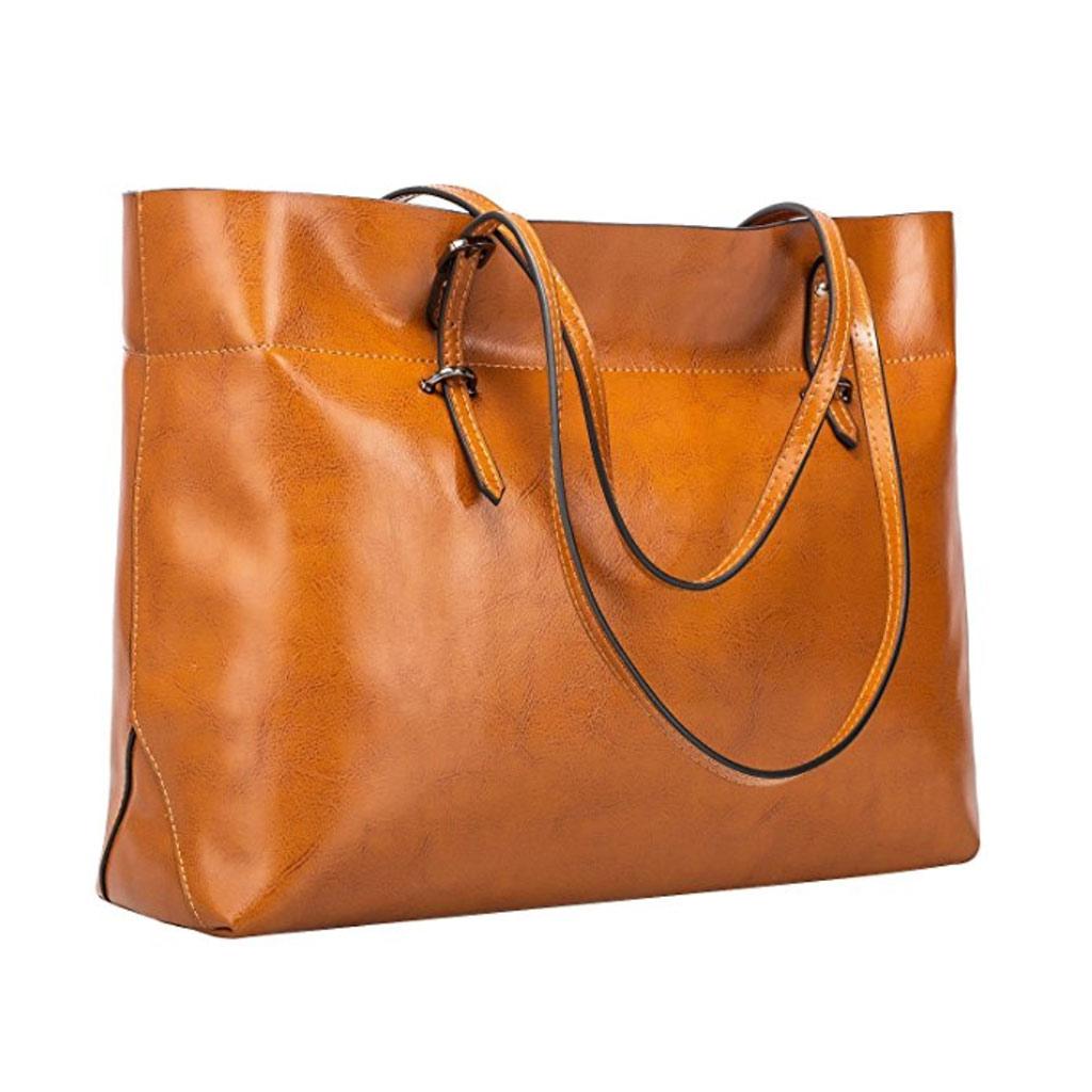 s-zone vintage genuine shoulder handbag