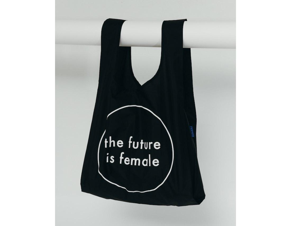 the future is female baggu bag