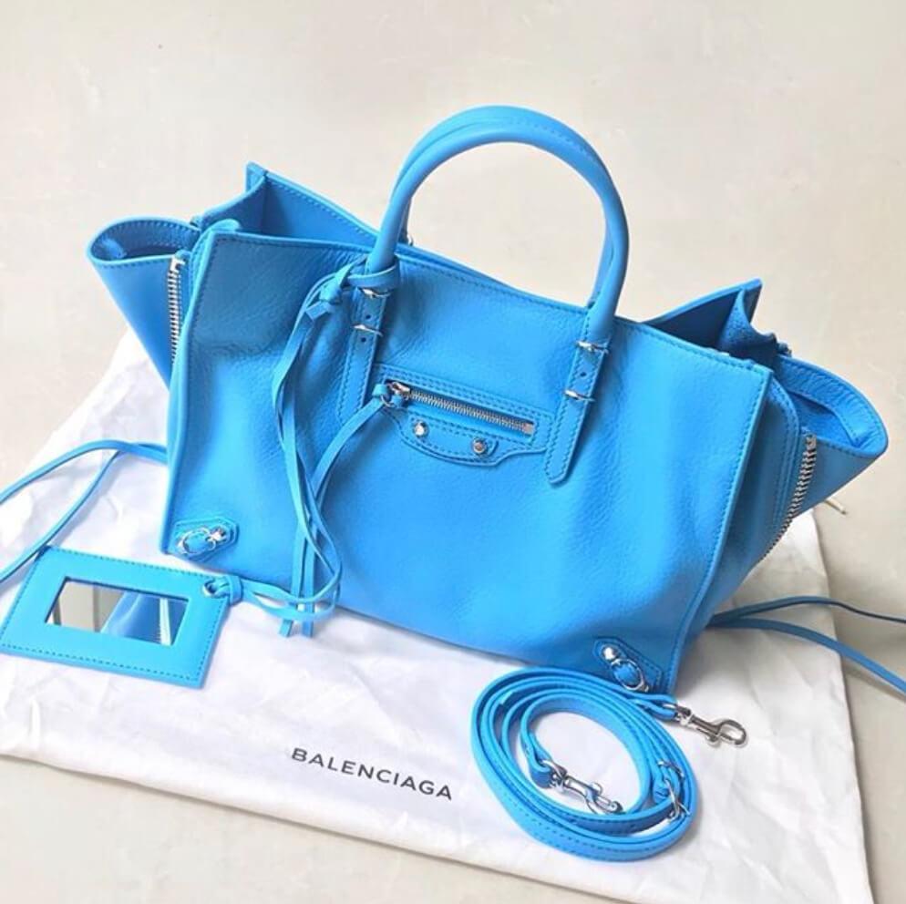 balenciaga-papier-blue-handbag