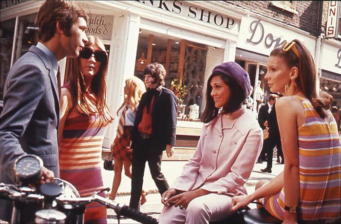 the swinging 1960s London UK
