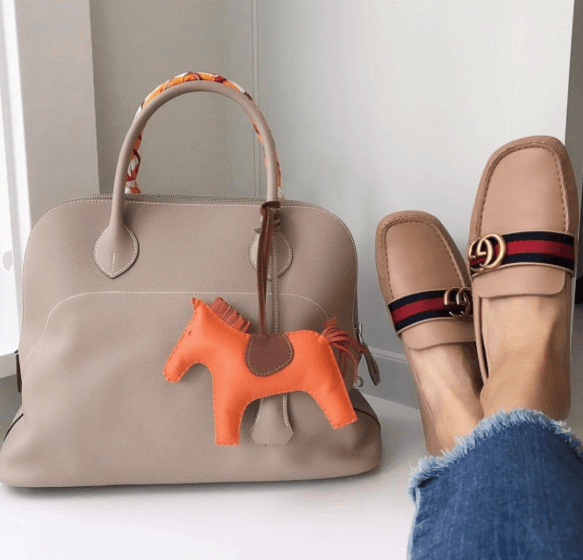 Hermes Boldie with Horse Charm