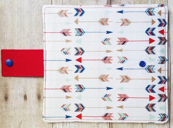 Arrow Wallet Pattern