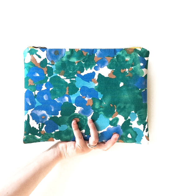 Floral Clutch - Size Reference