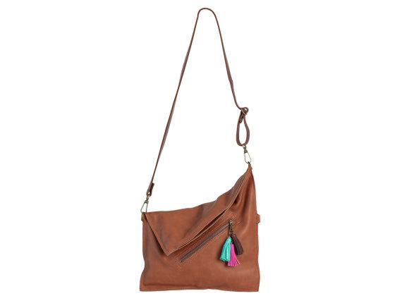 Tassel bag front