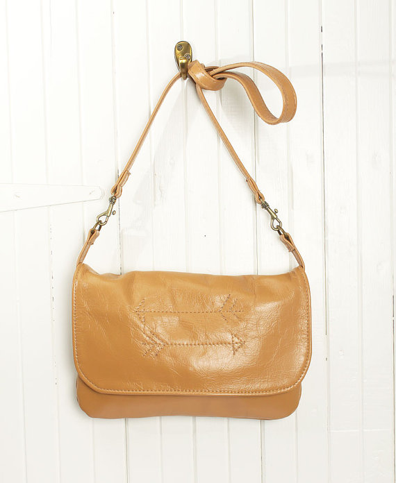 Tan Leather Crossbody