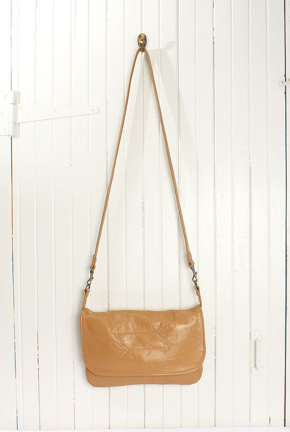 Tan Crossbody Hanging