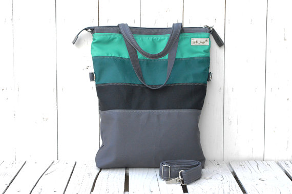 Teal Messenger Best Front