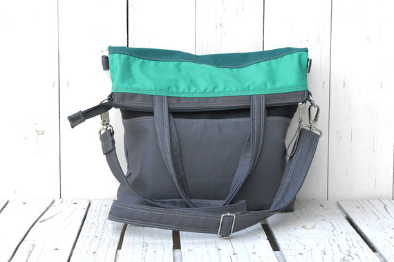 Teal Messenger Folded