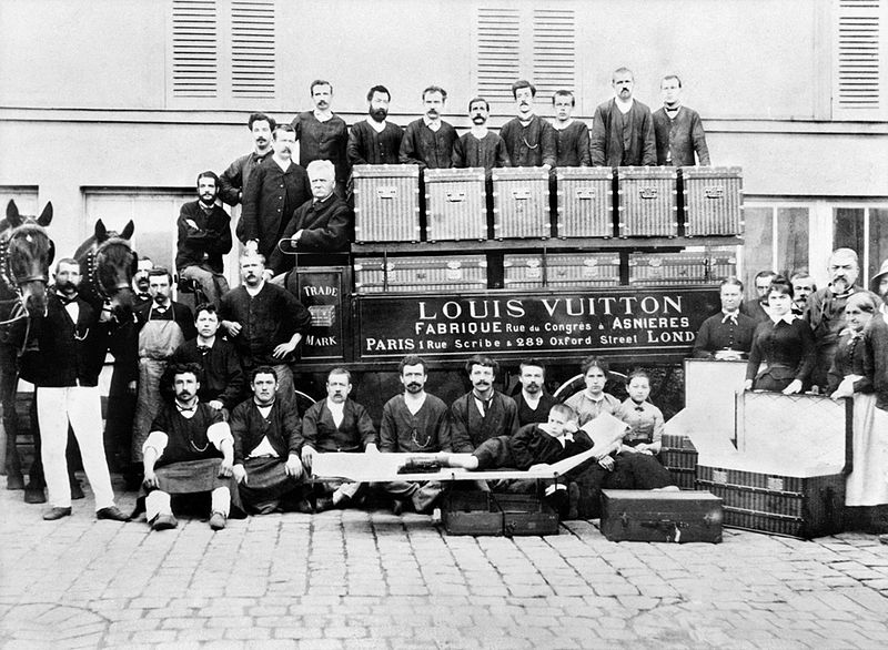 Vuitton Family Circa 1888