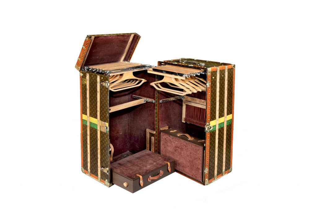 louis vutton steamer trunk