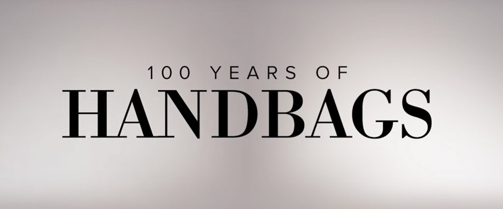 100 years of handbags