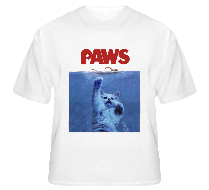 paws cat shirt