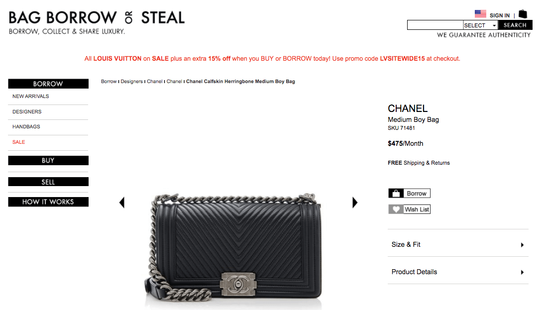 bbos chanel boy bag black