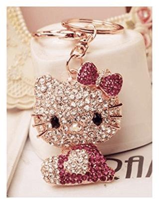 swarovski-rhinestone-crystals-hello-kitty-keyring