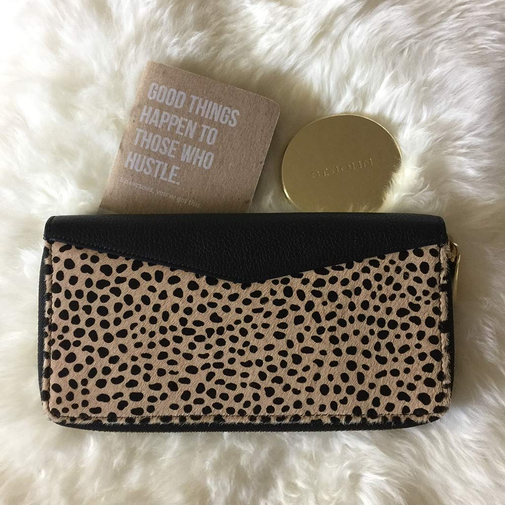 Aimee-Kestenberg passport wallet cheetah print leather calf hair