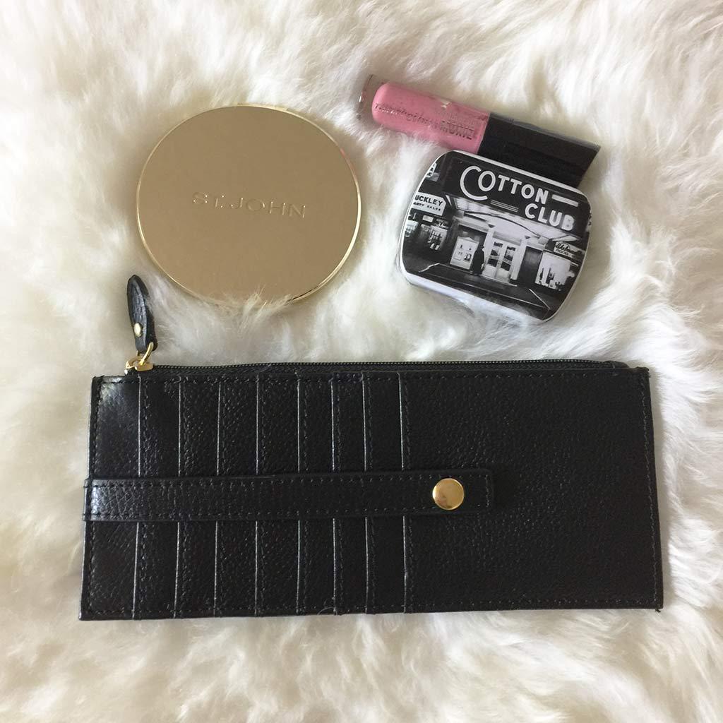 lodis cardstacker leather wallet black