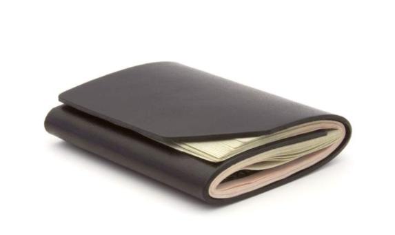 Ezra Arthur Cash Fold Wallet Jet