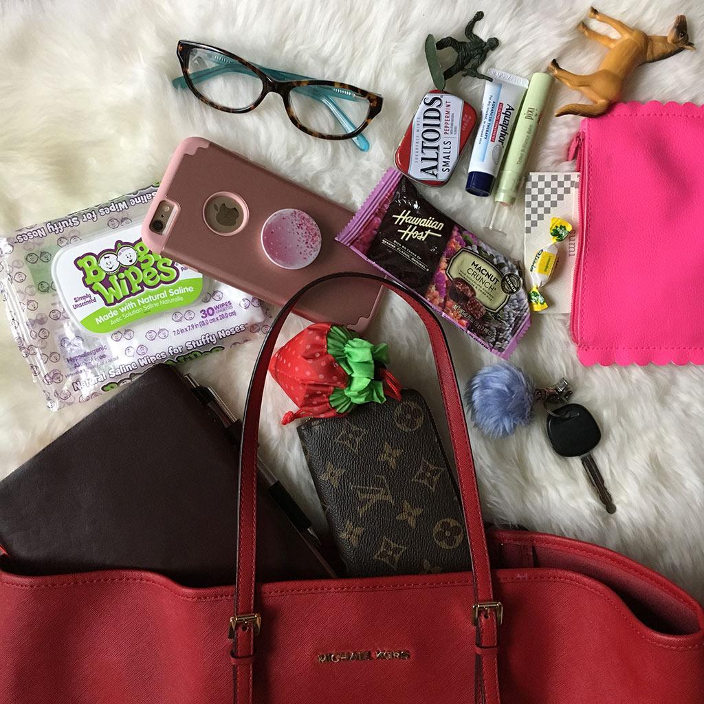 handbag organization tips