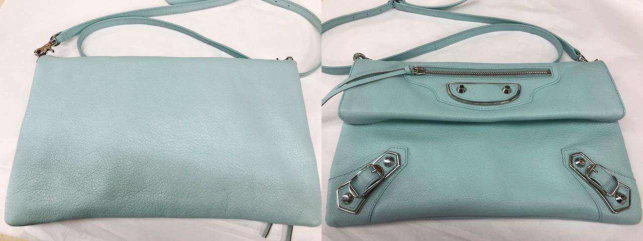 blue bag after Factotum