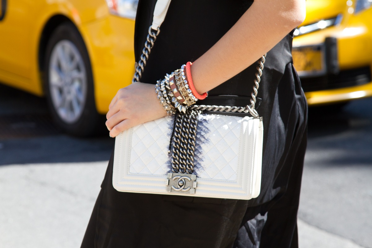 Chanel Bag in White