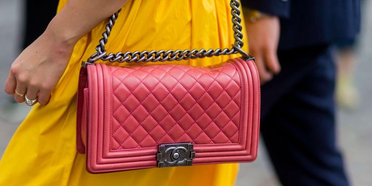 Chanel Quilted Bag in Red