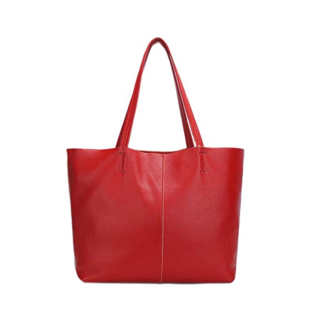 domero red shoulder bag