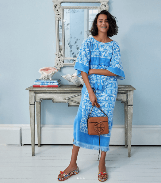 Tory Burch Miller Boho Look