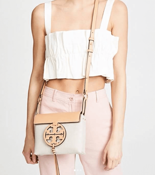 Tory Burch Miller Canvas Crossbody