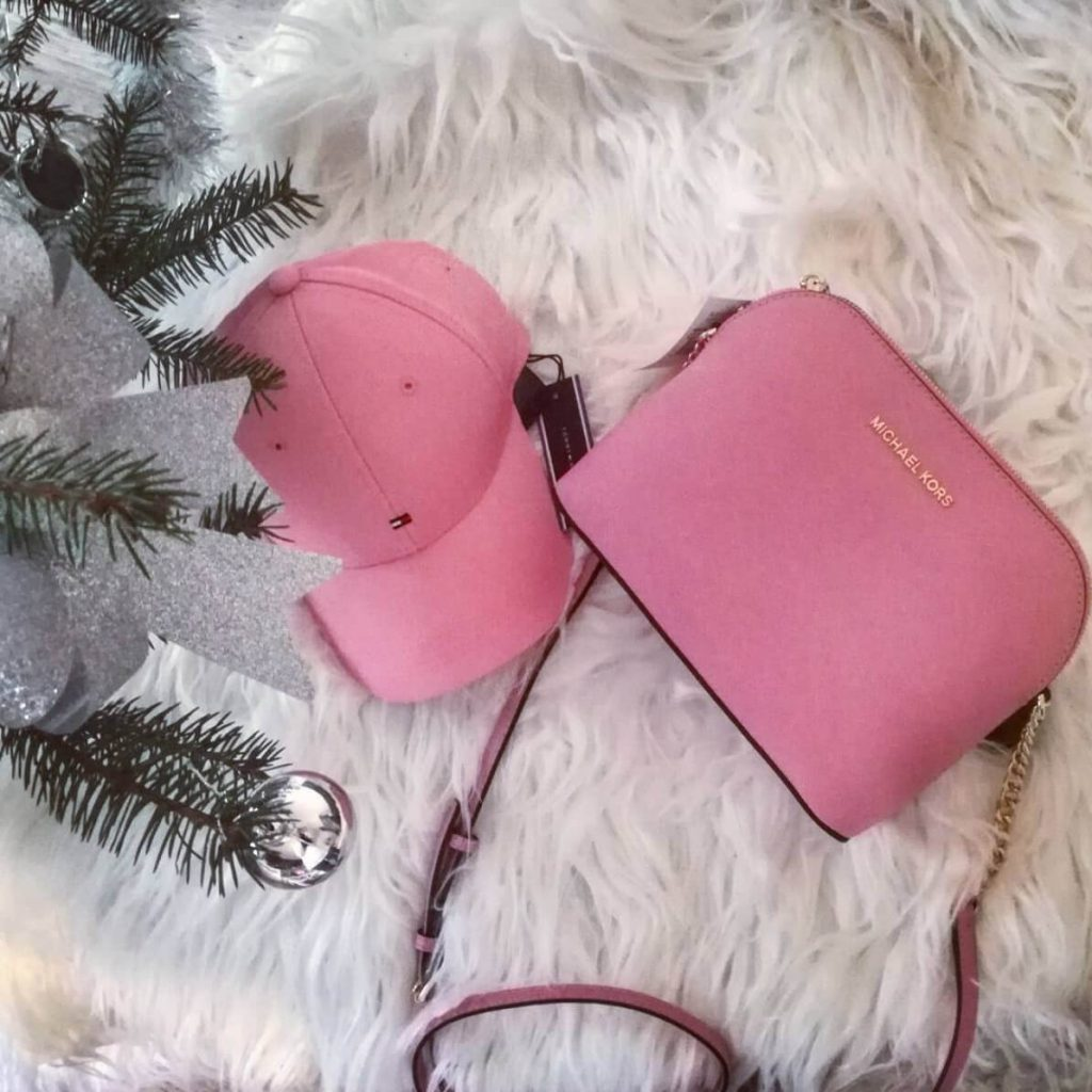 michael kors cindy in pink