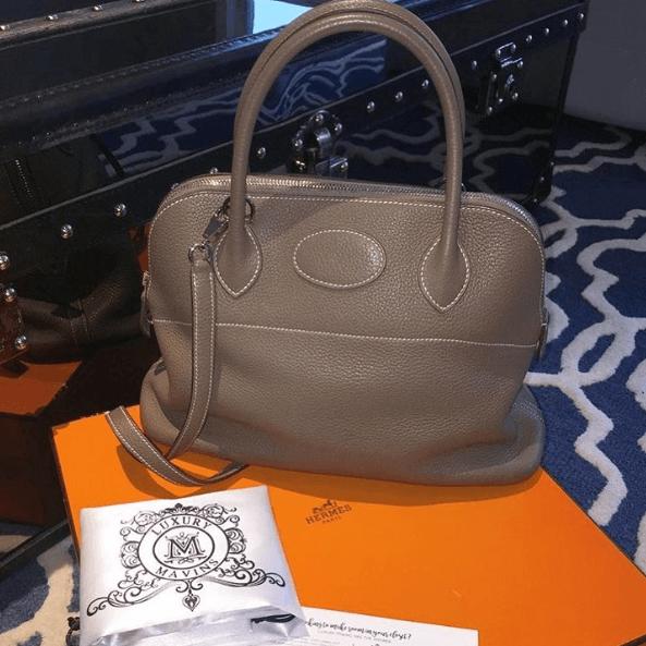 Hermes Boldie Grey