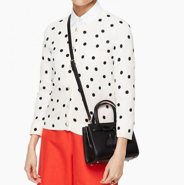 Kate Spade Hayes Street Black Slung Over the Shoulder