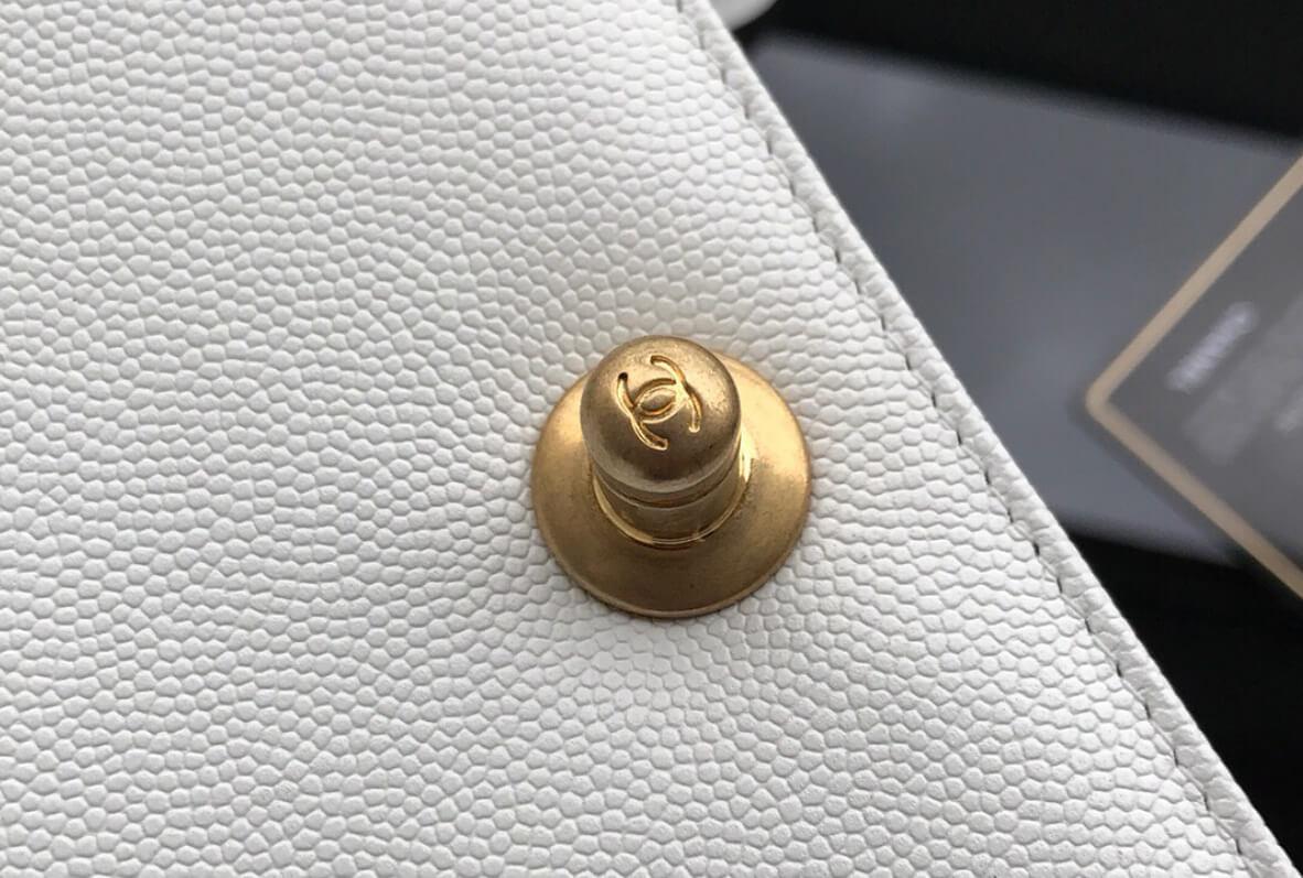 Chanel double C fastening rod