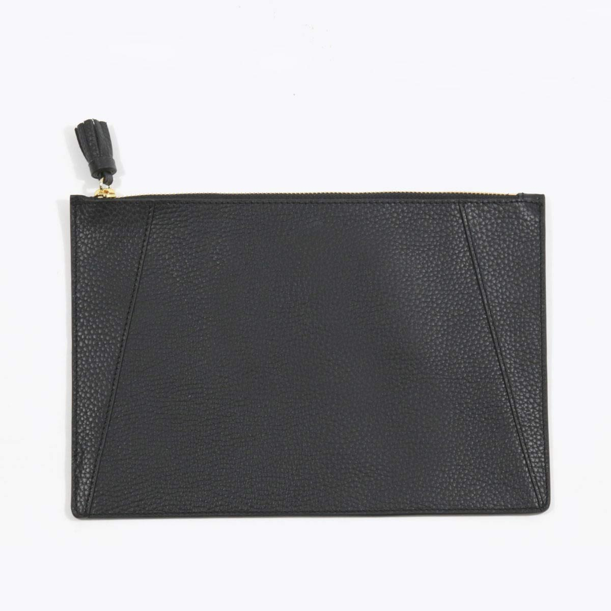 Neely Chloe Flat Clutch Pebble Black
