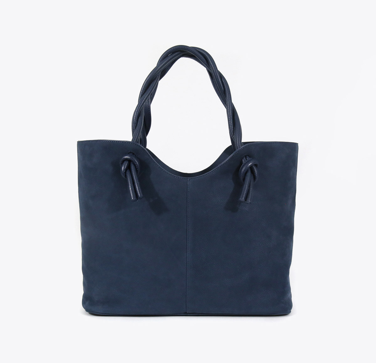 Neely And Chloe No. 45 The Twist Tote Nubuck front view