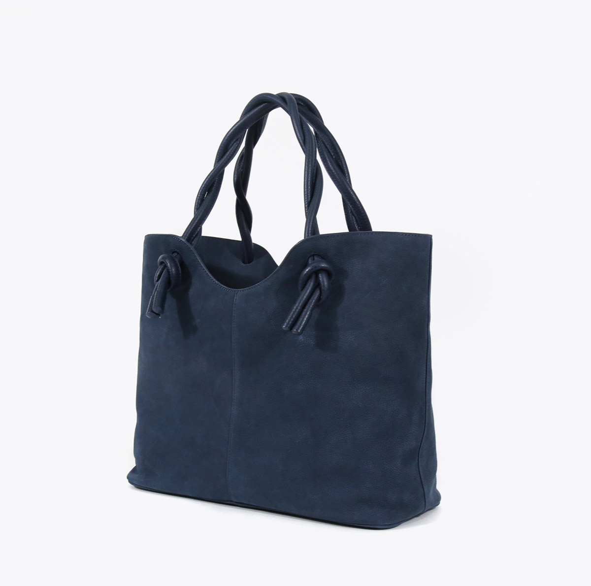 Neely And Chloe No. 45 The Twist Tote Nubuck