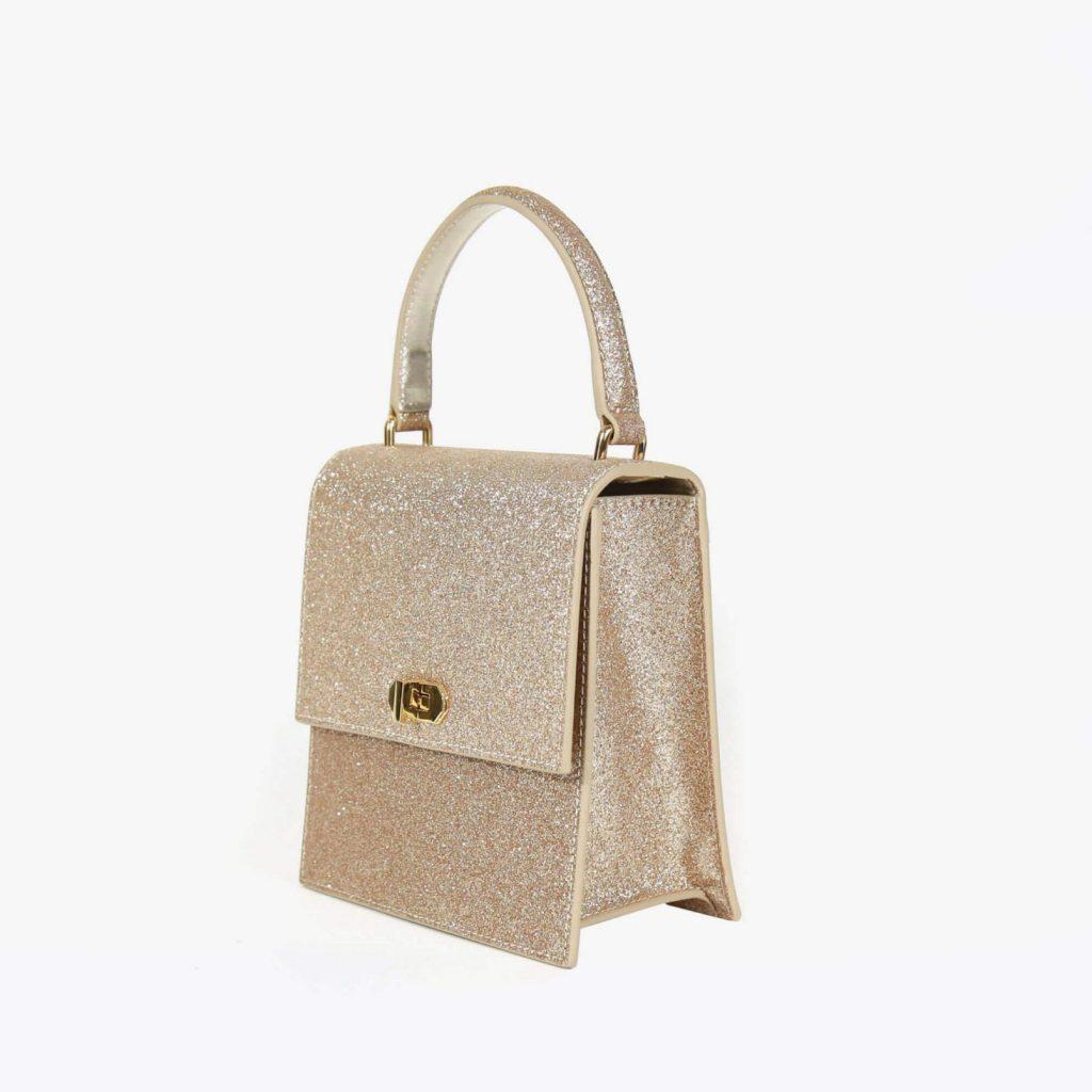 Neely Chloe No 19 Mini Lady Bag Gold