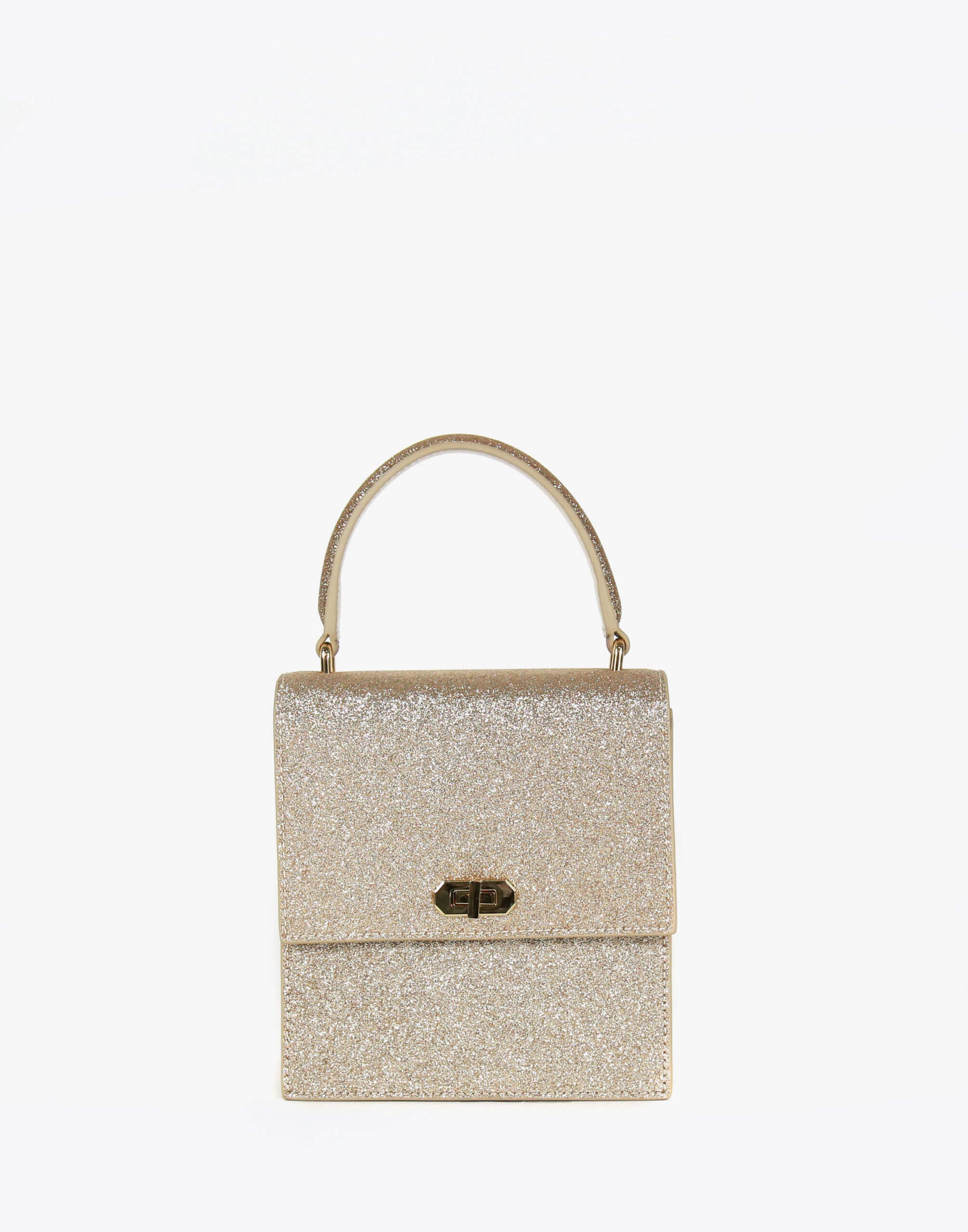 Neely & Chloe No. 19 Mini Lady Bag Front View Gold