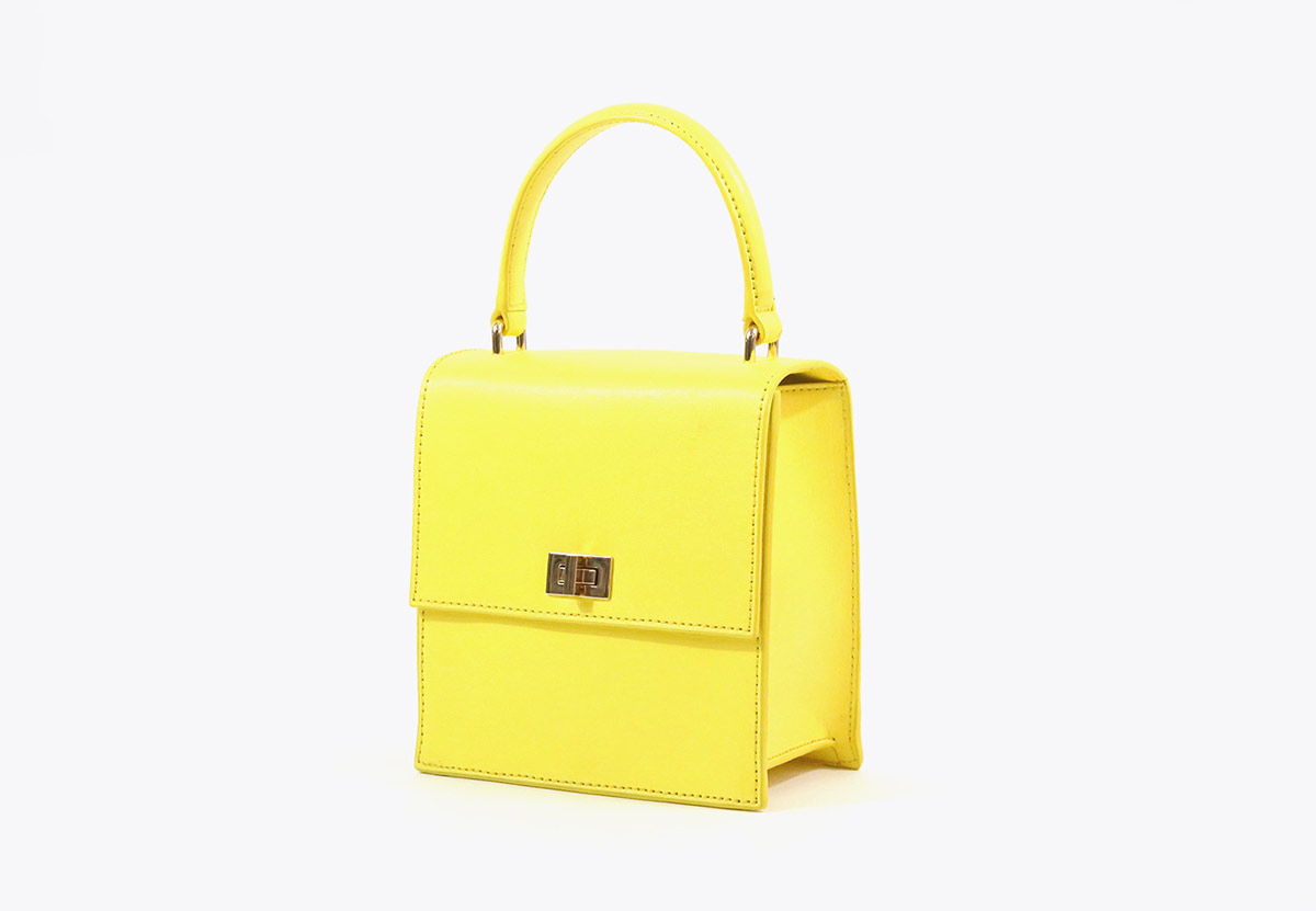 Neely and Chloe Mini Lady Bag Buttercup yellow