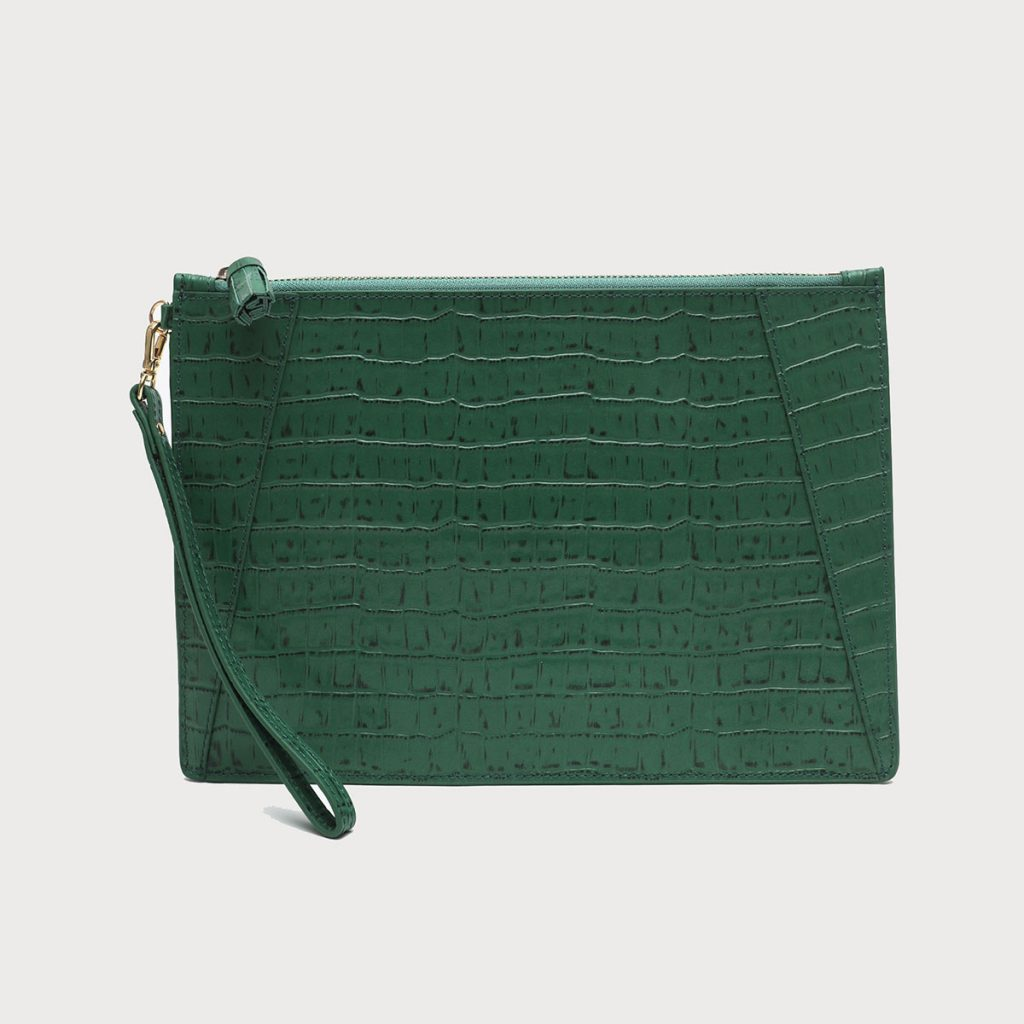green clutch featured image