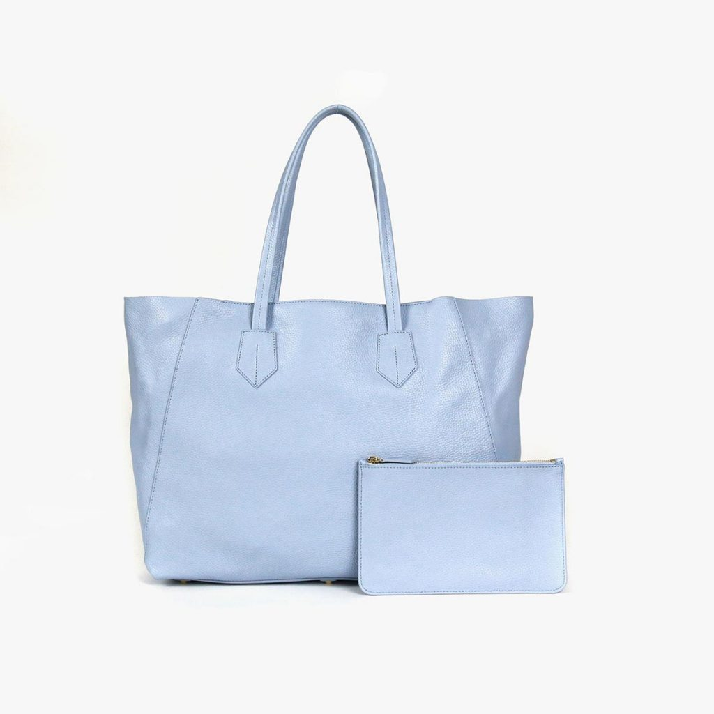 Neely and Chloe Steel Blue Tote No. 2