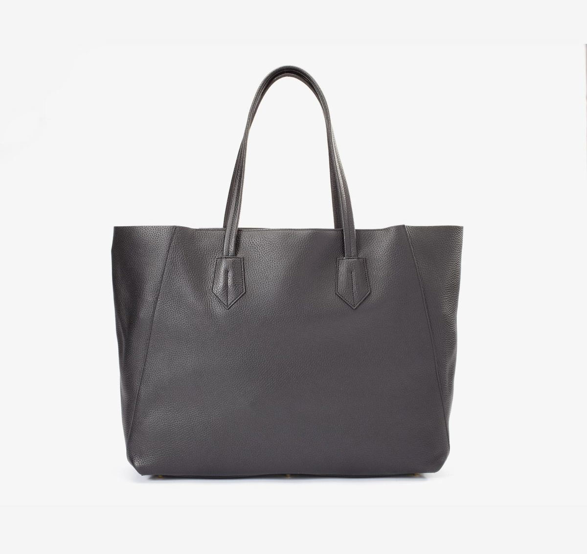neely and choe large tote black front view