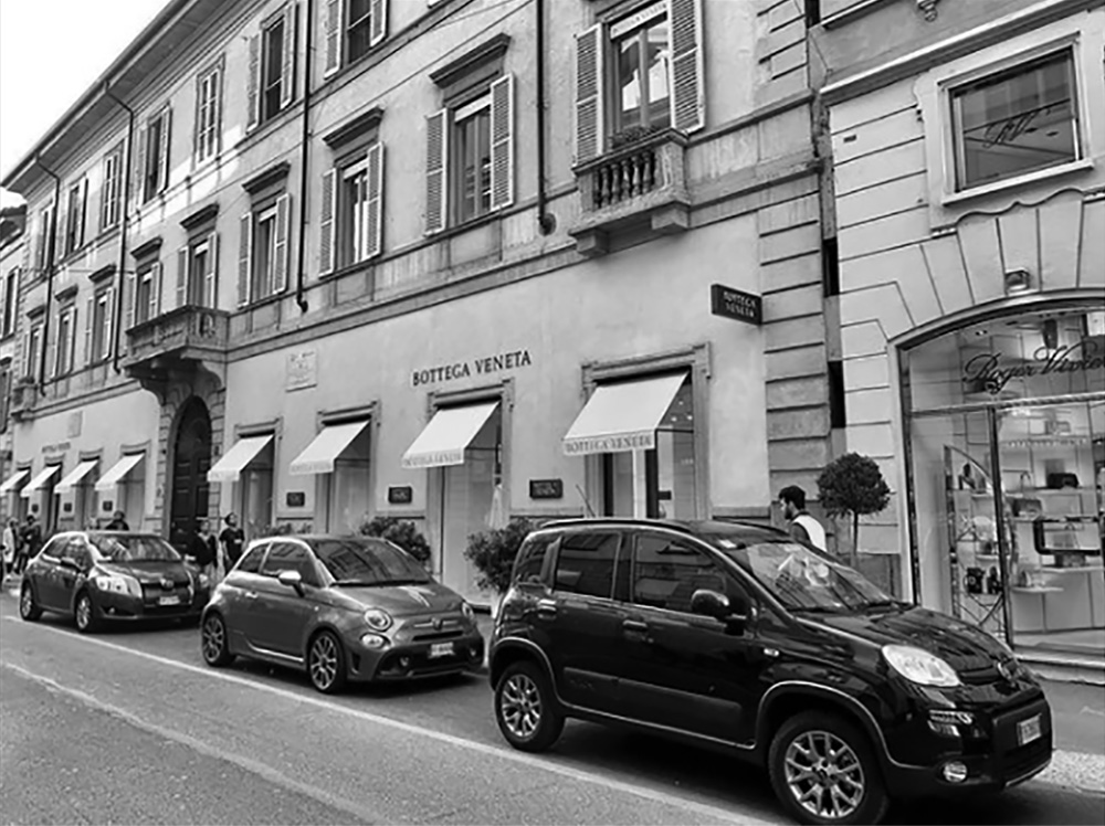 Bottega Veneta store italy